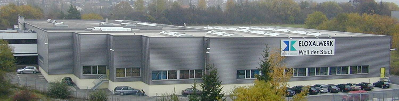 Firmengebäude Eloxalwerk Weil der Stadt